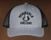 Cover Image for Hat Peninsula College Pirate Head arch gray & black