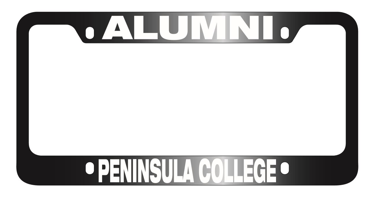 Image For License plate cover Alumni