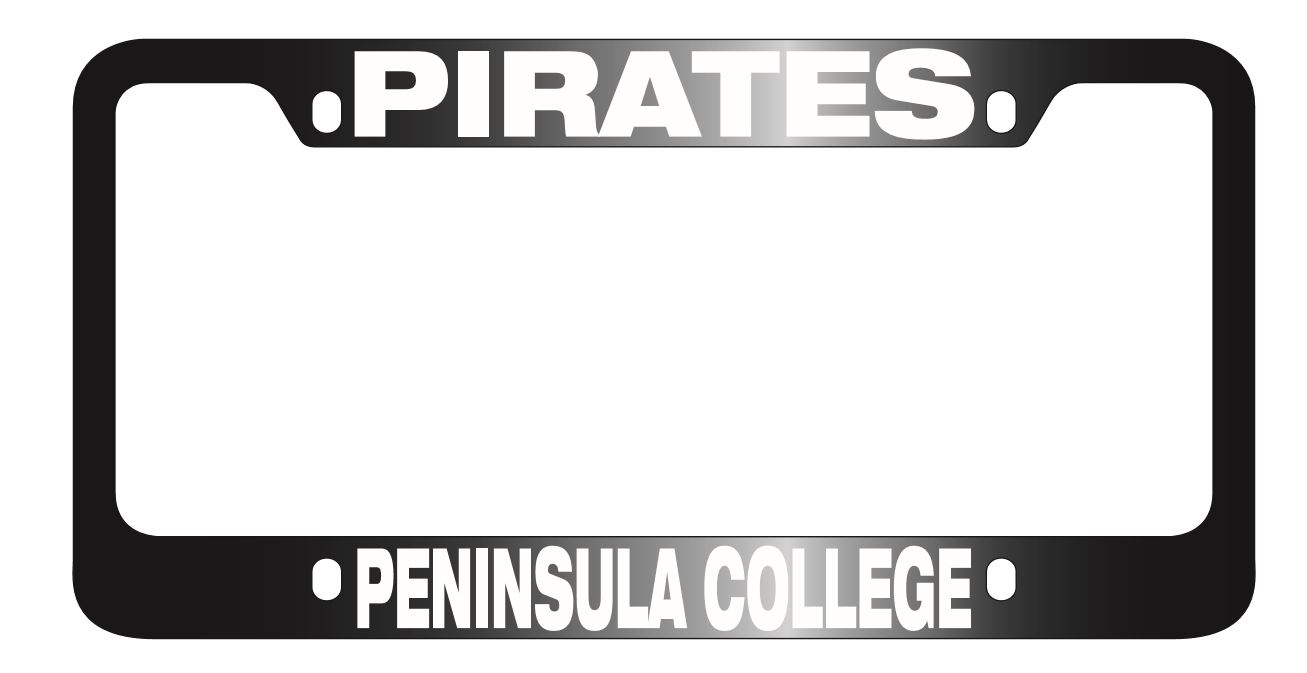 Image For License plate cover Pirate