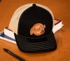 Cover Image for Hat Peninsula College Pirates Leather Logo